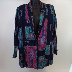 Kensington Square Rayon Jacket L CL1283 0719